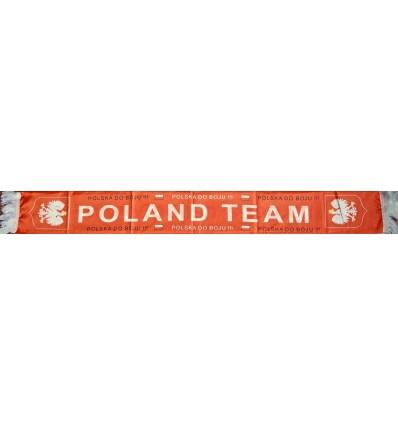 Poland Polska - red footbal fan scarf 130x18cm Sportteam