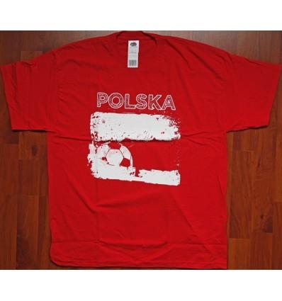 """Polen Polska - T-Shirt """"Polska"""" rot L"""
