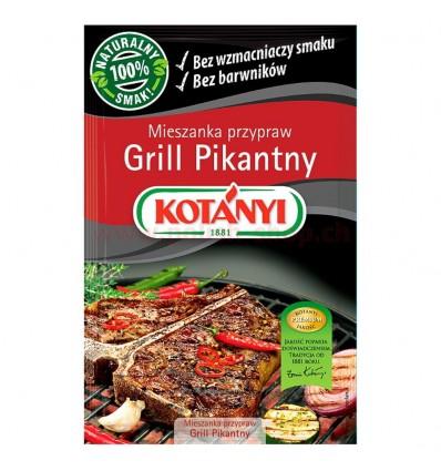 Spicy grill seasoning Kotanyi 30g
