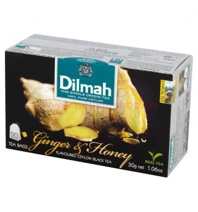 Herbata Ginger & Honey Dilmah 20 torebek