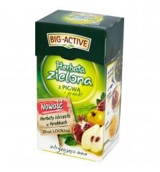 Herbata zielona z pigwą + granat Big-Active 20 torebek