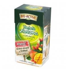 Herbata zielona z opuncją + mango Big-Active 20 torebek
