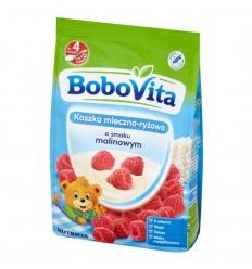 Kaszka mleczno-ryżowa o smaku malinowym Bobovita 230g