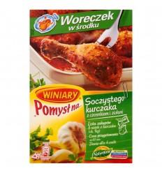 Pomysł na.. soczystego kurczaka z czosnkiem i ziołami Winiary