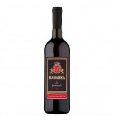 Wino Kadarka czerwone półsłodkie 1 litr