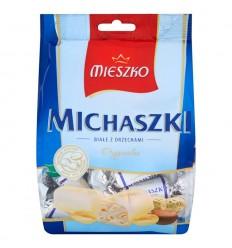 Cukierki Michaszki białe z orzechami Mieszko 1kg
