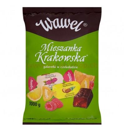 Mieszanka Krakowska Friandises de gelée enrobées de chocolat