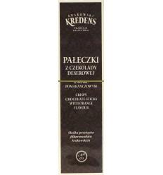 Pałeczki z czekolady deserowej Krakowski Kredens 75g
