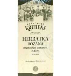 Herbatka różana owocowo-ziołowa z różą Krakowski Kredens 20 torebek