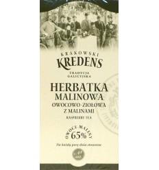 Herbatka malinowa owocowo-ziołowa z malinami Krakowski Kredens 20 torebek