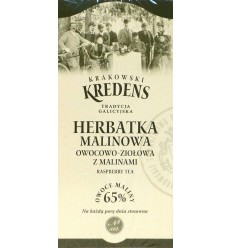 Herbatka malinowa owocowo-ziołowa z malinami Krakowski Kredens