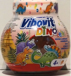 Żelki Dino Vibovit 225g