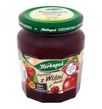 Cherry jam extra Herbapol 240g