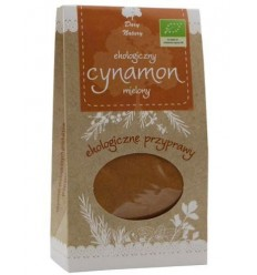 Cynamon mielony ekologiczny Dary Natury 60g