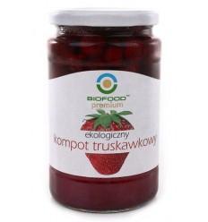 Kompot truskawkowy ekologiczny Biofood 750ml