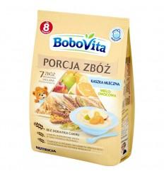 Kaszka Porcja Zbóż mleczna wieloowocowa Bobovita 210g