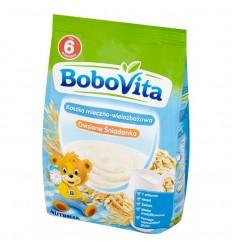 Kaszka mleczno-wielozbożowa Owsiane Śniadanko Bobovita 230g