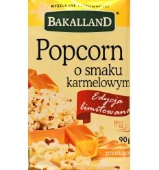 Popcorn o smaku karmelowym Bakalland 90g