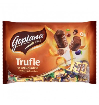 Chocolate-covered Truffles Goplana/Wawel 1kg