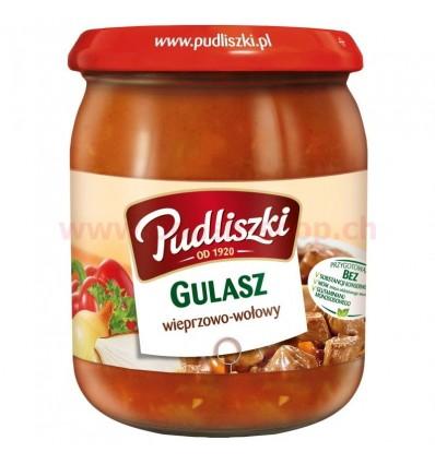 Danie Gulasz wieprzowo-wołowy Pudliszki 500g