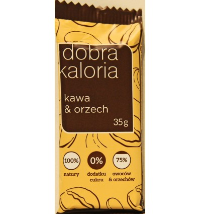 Dobra Kaloria cereal bar Coffe & Nut 35g