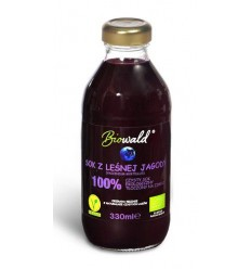 Sok z leśnej jagody Biowald 330ml