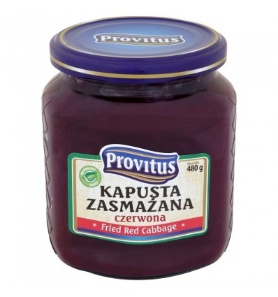 Fried red cabbage Provitus 480g