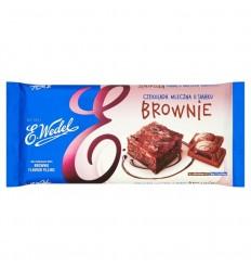 Czekolada mleczna o smaku brownie Wedel 290g