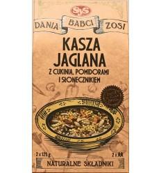 Kasza jaglana z cukinią, pomidorami i słonecznikiem Dania Babci Zosi 250g