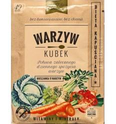 Warzyw Kubek Dieta kapuściana mieszanka 11 warzyw 17g