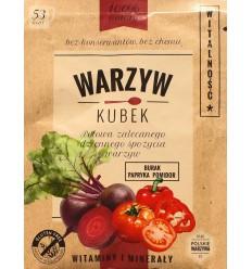 Warzyw Kubek Witalność burak, papryka, pomidor 17g