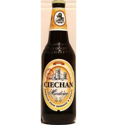 Ciechan/Kormoran honey beer bottle 500ml