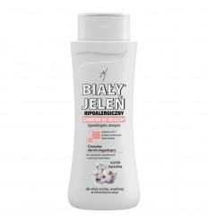 Hipoalergiczny szampon do włosów czysta bawełna dla skóry suchej, wrażliwej Biały Jeleń 300ml