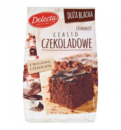 Gâteau au chocolat Duza Blacha Delecta 670g
