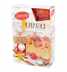 Ciasto Karpatka Delecta 390g