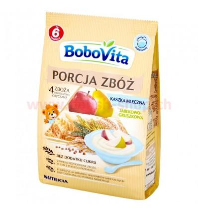 Kaszka Porcja Zbóż mleczna jabłkowo-gruszkowa Bobovita 210g