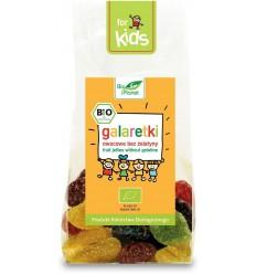 Galaretki owocowe bez żelatyny Bio Planet 100g
