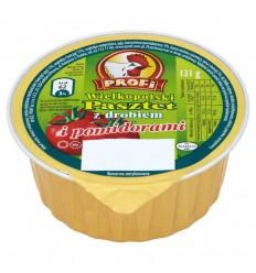 Pasztet z drobiem z pomidorami Wielkopolski Profi 131g