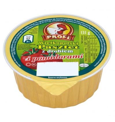 Wielkopolski Pasztet z drobiem z pomidorami Profi 131g