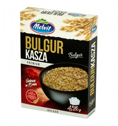 Kasza Bulgur Melvit 400g