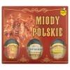 Miels polonais ensemble 3x250g