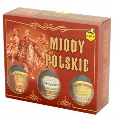Miody Polskie Zestaw 3x250ml