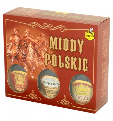 Polish meads set 3x250ml