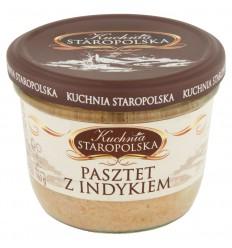 Pasztet z indykiem Kuchnia Staropolska 160g