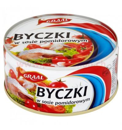 Brown bullheads in tomato sauce Graal 300g