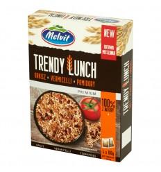 Kasza Trendy Lunch orkisz, vermicelli, pomidory Melvit 4x100g