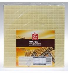 Wafle tortowe kwadratowe 150g
