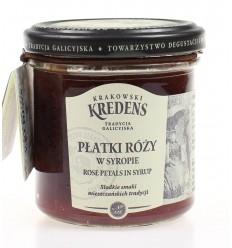 Syrop Płatki róży Krakowski Kredens 170g