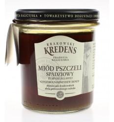 Miód pszczeli spadziowy Krakowski Kredens 370g