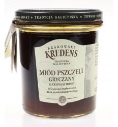 Miód pszczeli gryczany Krakowski Kredens 370g